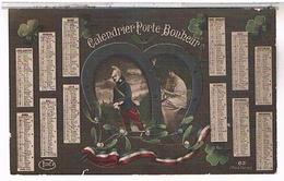 CARTE POSTALE CALENDRIER 1916 - Calendriers