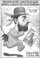 Illustrateur Bernard Veyri Caricature Salon D'albi 1998 Toulouse Lautrec - Veyri, Bernard