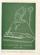 Santino Grande BEATO AGOSTINO DA LUCERA Ordine Domenicano - PERFETTO P83 - Religione & Esoterismo