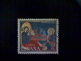 Spain, Scott #1696, Used (o), 1971, Christmas Issue: Nativity Scene, 2pts - 1971-80 Oblitérés