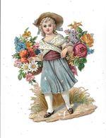Grand Découpi Petite Filles Dimension 22 Cm - Enfants