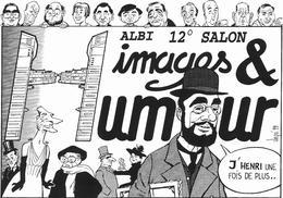 Illustrateur Bernard Veyri Caricature Salon Albi 1999 Images Et Humour - Veyri, Bernard