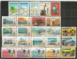 Année Complète 1991,  24 Timbres Neufs/mint **  Côte   80,00 Euro - Ile Norfolk