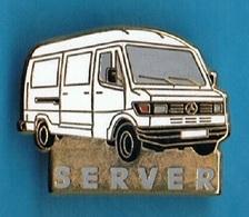 PIN'S //  ** MERCEDES / UTILITAIRE SERVER ** . (Sofrec) - Mercedes