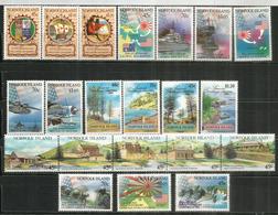 Année Complète 1992,  21 Timbres Neufs/mint **  Côte   55,00 Euro - Ile Norfolk