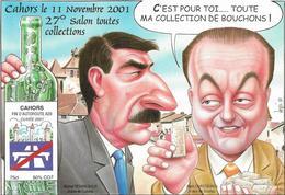 Illustrateur Bernard Veyri Caricature Cahors 2001 - Veyri, Bernard
