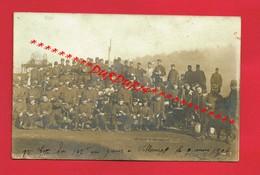 [54] Meurthe Et Moselle > VILLERUPT  Rare Carte Photo Grèves 1906 Militaires - Autres Communes