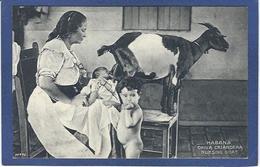 CPA Cuba La Havane Nourrice Chèvre Goat Non Circulé - Cartes Postales