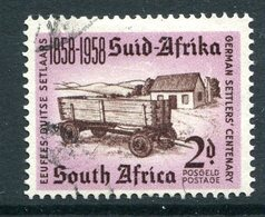South Africa 1958 Centenary Of Arrival Of German Settlers Used (SG 168) - Oblitérés