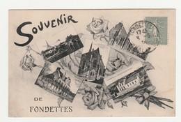 Souvenir De Fondettes.37.Indre Et Loire. - Fondettes
