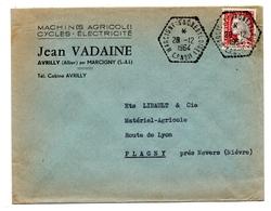 Marcigny Hexagonal 1964 C.P. N°11 - Francia