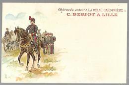 """Chicorée Extra  """" A La Belle Jardinière """" Cavalier - Advertising"""