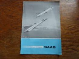 Folder Saab Aviation Militaire Et Voiture Militaria - Aviation