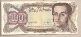 Venezuela - Banconota Circolata Da 100 Bolivares P-55d - 1976 - Venezuela