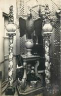 14 - CAEN  - Carte Photo D'un Antiquaire Rue Ecuyère ? Aigle Sur Un Globe Terrestre - Empire Napoleon - Caen
