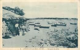 17 - ANGOULINS - Barques De Peche En 1945 - Andere Gemeenten