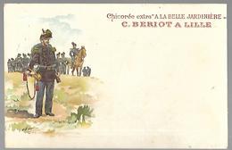 """Chicorée Extra  """" A La Belle Jardinière """"  .soldat - Advertising"""