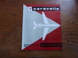 Catalogue Présentation Avion  Caravelle 1963 Aviation (doc En Espagnol) Sud-Aviation - Aviation