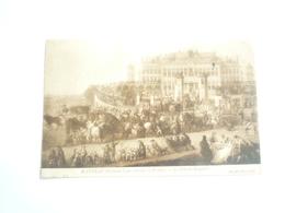 1908 WATTEAU LA FETE DU BROQUELOT MUSEE DE LILLE  ED LL CIRCULÉE DOS DIVISE  ETAT BON - Pintura & Cuadros