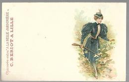 """Chicorée Extra  """" A La Belle Jardinière """" Chasseuse - Advertising"""