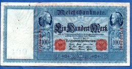 Allemagne  - 100 Mark      21/4/1910   - Pick # 42 -  état  TTB - [ 2] 1871-1918 : German Empire