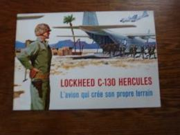 Top Folder Lockheed C-130 Hercules Aviation Militaire (doc En Français) - Aviation