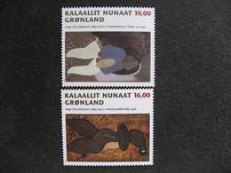Groenland: TB Paire N° 290 Et N° 291. Neuve XX. GM. - Groenland