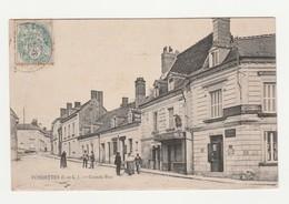 Fondettes.37.Indre Et Loire.Grande Rue.1906 - Fondettes