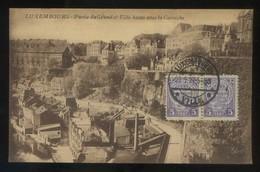 Luxemburgo. *Partie Du Grund Et Ville...* Ed. P.C.S. Circulada 1927. - Luxemburgo - Ciudad