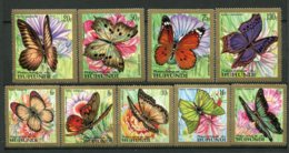 9368  BURUNDI  PA 82/90 **  Série  Papillons    TTB - 1970-79: Neufs