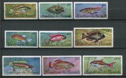 9369  BURUNDI  PA 62/70 **  Série  Poissons    TTB - Burundi