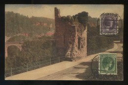 Luxemburgo. *Descente De Clausen. Ruine Du Château...* Ed. P.C.S. Circulada 1927. - Luxemburgo - Ciudad