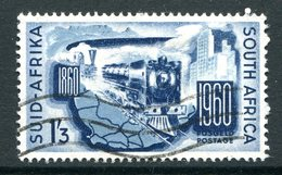 South Africa 1960 Centenary Of South African Railways Used (SG 183) - Oblitérés