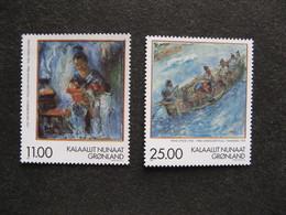 Groenland: TB Paire N° 304 Et N° 305. Neuve XX. GM. - Groenland