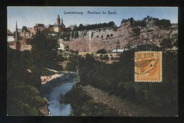Luxemburgo. *Rochers Du Bock* Matasellos De Favor 1927. - Luxemburgo - Ciudad