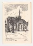 Fondettes.37.Indre Et Loire.Eglise.Yves Ducourtioux.1990 - Fondettes