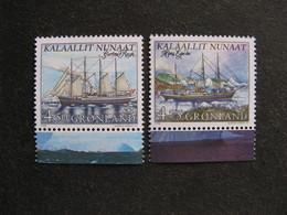 A). Groenland: TB Paire N° 306a Et N° 307a. Neuve XX. GM. - Groenland