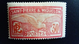 Saint  Pierre Et Miquelon SPM 1922 Animal Goéland Oiseau Bird Yvert 111 ** MNH - Ungebraucht
