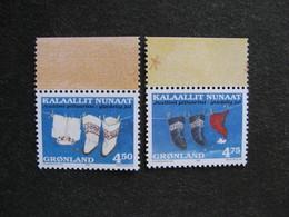Groenland: TB Paire N° 308a Et N° 309a. Neuve XX. GM. - Groenland