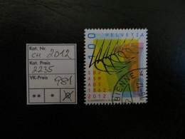 "2012  "" Blasmusikverband ""  Gut Gestempelt,   LOT 981 - Zwitserland"