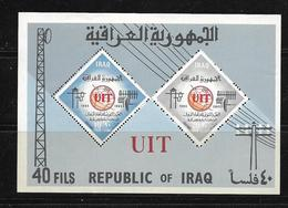 IRAQ 1965 BLOC  UIT  YVERT N°B7 NEUF MNH** - Iraq