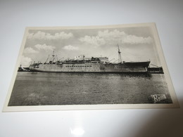 CPSM - Messageries Maritimes - Paquebot LA MARSEILLAISE - Dampfer