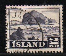 ISLANDE. N°232 Oblitéré De 1950. Ile De Vestmannaeyjar. - 1944-... Repubblica