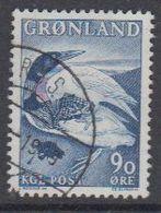 Greenland 1967 Islommen & Ravnen 1v Used (41064S) - Groenland