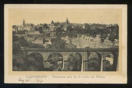 Luxemburgo. *Panorama Pris De La Route De Trèves* Ed. P. Houstraas Nº 630. Nueva. - Luxemburgo - Ciudad