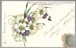 """Chicorée Extra  """" A La Belle Jardinière """"  .NARCISSE. - Publicité"""