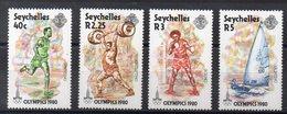 SEYCHELLES  Timbres Neufs ** De1980  ( Ref 5775 ) Sport - JO - Seychelles (1976-...)