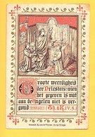 WEELDE...1898...EERSTE H.MIS Z.E. HEER JAN VERHEYEN PAROCHIALE KERK TE WEELDE - Santini