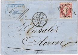 E2-N° 17 Piquage SUSSE - 1849-1876: Periodo Classico