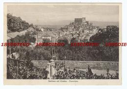 SORIANO NEL CIMINO - PANORAMA F/GRANDE VIAGGIATA 1938 ANIMATA - Viterbo
